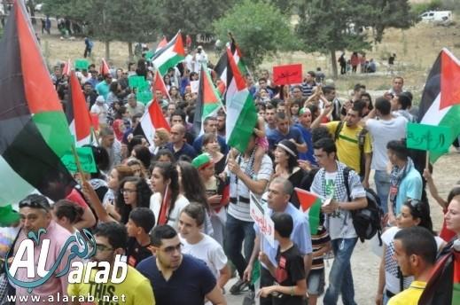 مسيرة العودة الـ17 من قرية لوبية المهجرة بحضور الآلاف من الجماهير العربية والقيادات