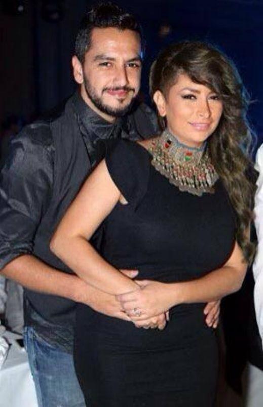 بالصور:  ديما بياعة ترقص وتغني مع زوجها في الامارات