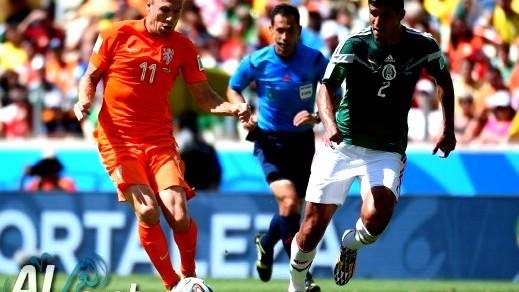 اهداف مباراة منتخب هولندا امام منتخب المكسيك 2-1