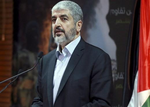 مشعل:لا هدنة بوجود إسرائيلي بغزة وصمود المقاومة الفلسطينية انتصارا