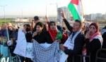 تظاهرة حاشدة أمام مستشفى العفولة تضامنا مع القيق