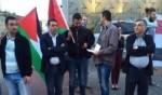 حيفا: العشرات في تظاهرة أمام القنصلية الفرنسية