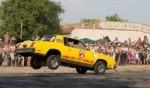 الجنون والاثارة في مهرجان السيارات