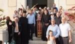 الطائفة المسيحية في حيفا تستقبل شعلة النور