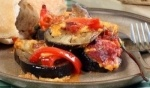 الباذنجان المحشو بالجبن والخضراوات..سهلة وشهية
