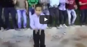 أمهر طفل فلسطيني يرقص الدحية