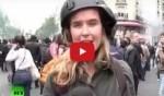 بالفيديو: مراسلة تتلقى صفعة