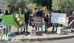 الناصرة: جمعية إنماء في تظاهرة لمحاربة التدخين