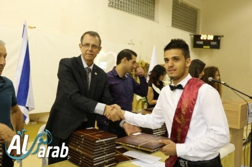 مدرسة صالح خنيفس شفاعمرو تخريج فوجها الـ18