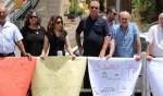 يافة الناصرة: تظاهرة رفع شعارات على عملية تدفيع الثمن