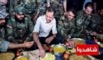 الأسد يتناول الإفطار في مطار مرج السلطان