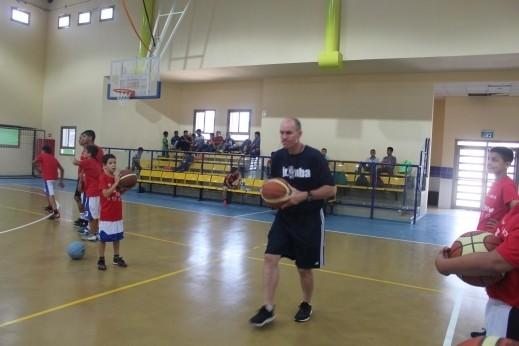 وفد NBA لكرة السلة الأمريكية يزور رهط