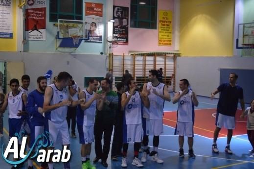 فريق كرة السلة المنهل جت المثلث يرتقي للدرجة القطرية