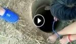 مرعب: إنقاذ طفل سقط في بئر عميقة!