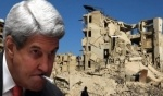 وزير الخارجية الأميركي يتهم موسكو بتدمير حلب