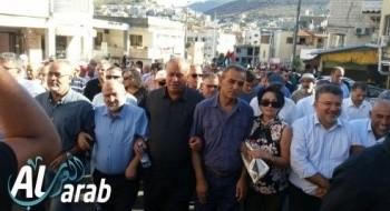 الجماهير العربية تحيي المسيرة الـ16 لهبة اكتوبر