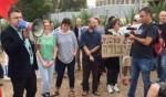 جبارين يشارك في تظاهرة رافضات الخدمة العسكرية