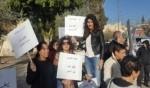 الناصرة: تظاهرة ضد قتل النساء بمشاركة العشرات