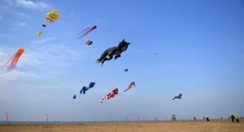 معرض الطائرات الورقية السنوي في الصين