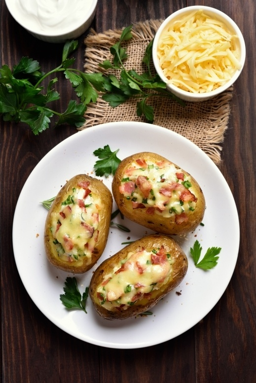 كومبير البطاطا التركية بحشوات مختلفة