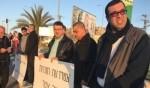 العشرات في تظاهرة الحزب والجبهة في ام الفحم ضد