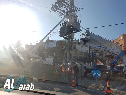 arabTV: حل أزمة إنقطاع الكهرباء في مار يعقوب