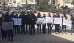 تشويشات في ثانوية طوماشين الطيرة وتظاهرة