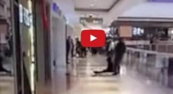 فيديو: رجل يضرب امرأة بوحشية