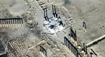 روسيا: داعش يسعى لتدمير آثار تدمر المتبقية