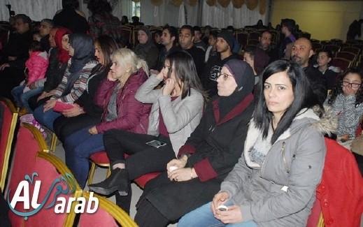 تقرير arabTV - أمير دندن يلهب الأجواء في مجد الكروم