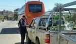 أبو سنان: تسجيل 16 مخالفة خطيرة واعتقال سائق