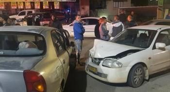 كفركنا: اصابة شخصين في حادث