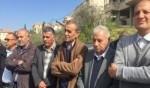 تظاهرة لمجلس طلعة عارة أمام مقر الشرطة