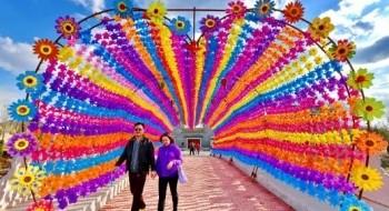 الصين: ألوان رائعة في مهرجان المروحيات