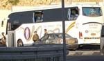 الجيش: تعرض حافلة لإلقاء حجارة قرب قرية الخضر