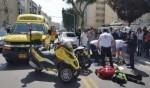 الرملة: إصابة راكب دراجة كهربائية في حادث