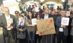 اللد: رفع شعارات إحتجاجًا على مقتل سهام زبارقة