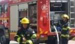 اندلاع حريق داخل سيارة في كفركنا