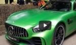 Mercedes AMG GTR بلون ساطع