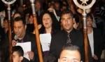 الطوائف المسيحية في كفركنا تحيي قداس وجناز المسيح