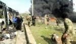 حلب: 100 قتيل في تفجير حافلات أهالي الفوعة وكفريا