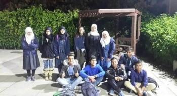 طلاب عهد حورة يشاركون في إطلاق قمر