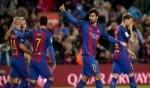 برشلونة يواصل انتفاضته بفوز كاسح على أوساسونا