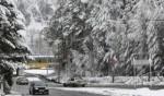 عاصفة ثلجية تضرب مدينة روسية