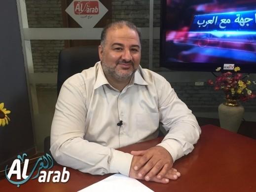 نتيجة بحث الصور عن site:alarab.net منصور عباس