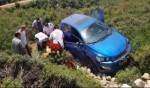 حيفا: إصابة رجل جراء تدهور سيارة
