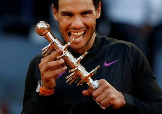 نادال يتوّج بلقب بطولة مدريد المفتوحة لتنس