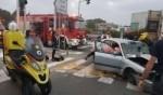 إصابة خطيرة جراء حادث طرق مروع قرب الرملة