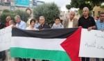 الناصرة: تظاهرة تضامنية مع الاسرى المضربين عن الطعام
