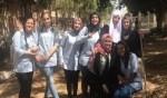 حملة تنظيف في الثانوية الشاملة في كفرقاسم